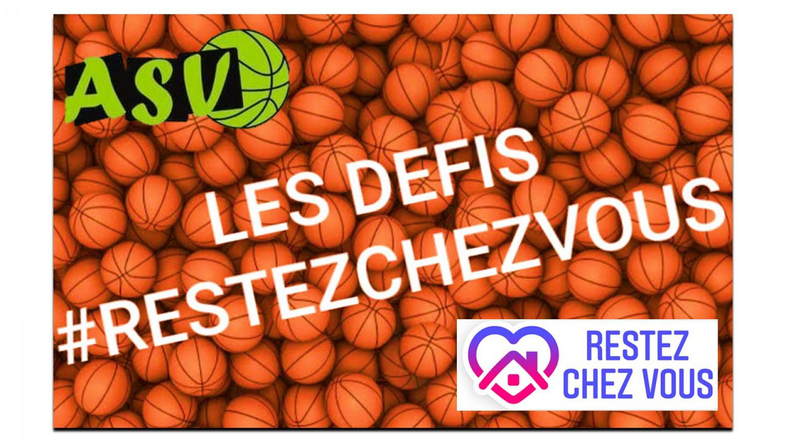 Pendant le confinement, l'ASV Basket vit encore !